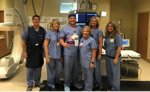 NEA Baptist Cardiology team